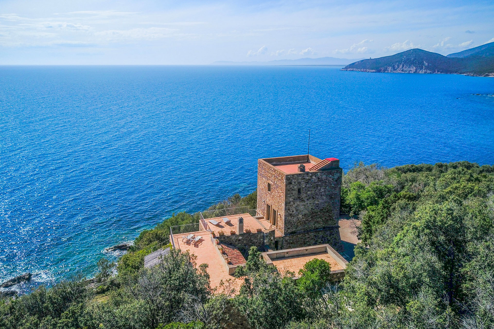 SEAFRONT VILLA FOR SALE ARGENTARIO, TUSCANY