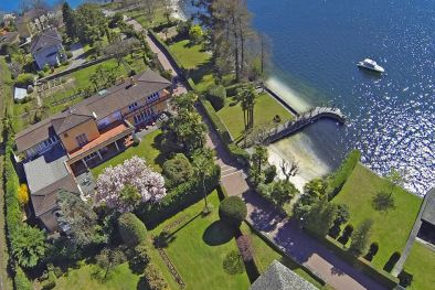 LAKE VIEW VILLA FOR SALE IN LOCARNO