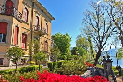 LAKEFRONT VILLA FOR SALE IN LOCARNO, LAKE MAGGIORE